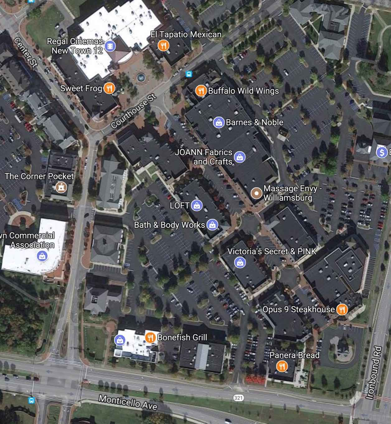 New Town Shops - Developers Realty Corporation